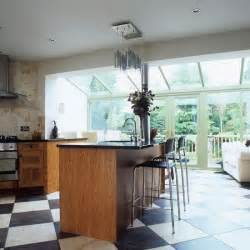 kitchen diner flooring ideas kitchen extension 10 ways to use a conservatory housetohome co uk