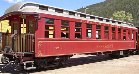 Durango And Silverton Train Cars