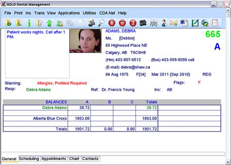 dental office software features gold dental edmonton