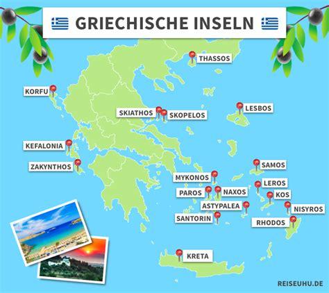 griechische inseln die  schoensten inseln im ueberblick