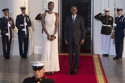 paul kagame   tall daughter   white
