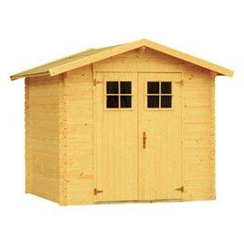castorama chalet en bois cabane de jardin en bois castorama