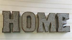 Decorative metal letter you pick home wall letter sign for Wall sign letters