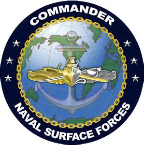 Commander Naval Surface Forces Logo