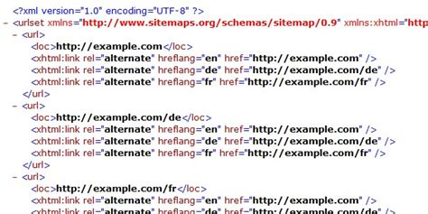 Hreflang Xml Sitemap Examples You Can Steal