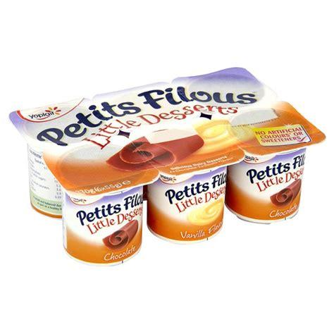 ocado petits filous desserts chocolate vanilla dairy desserts 6 x 55g product information