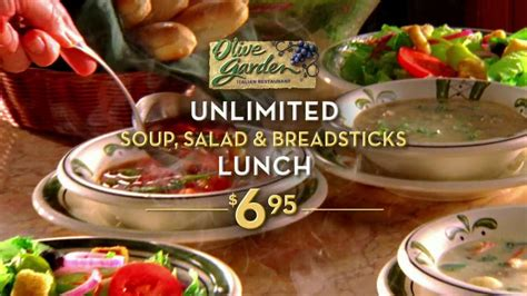 soup and salad olive garden olive garden tv for unlimited soup salad and