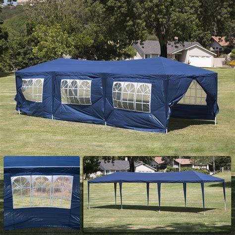 event gazebo 10 x 30 blue tent canopy gazebo