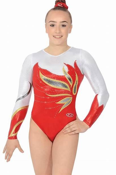 Leotard Gymnastics Sleeve Leotards Sofia Zone Womens