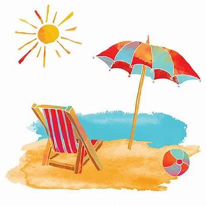 Vacation Clipart Beach Chair Clipartmag Clip Sunny