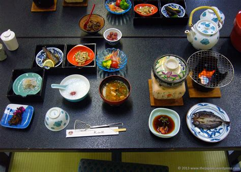 early cuisine traditional japanese breakfast the japans