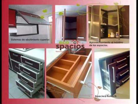muebles en pvc ecospacios youtube