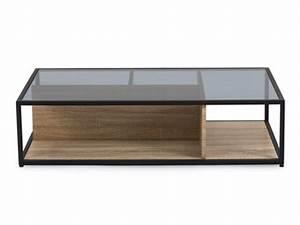 Table Basse Bois Et Verre : table basse de salon que vous soyez plus design industriel ou campagne ~ Teatrodelosmanantiales.com Idées de Décoration