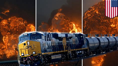 West Virginia Csx Oil Tanker Train Derailment Causes
