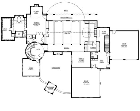 Santa Fe House Plans by Berenzy Luxury Santa Fe Home Plan 101s 0014 House Plans