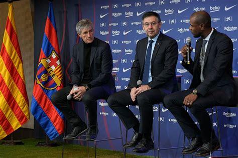 Barcelona boss Quique Setien's plan for the Champions ...