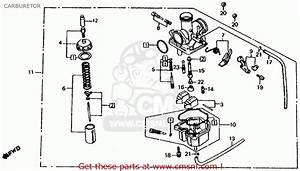 Honda Atc200es Big Red 1984  E  Usa Carburetor