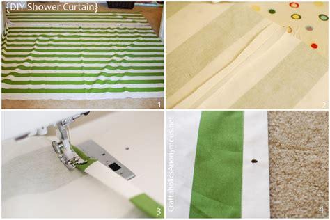 craftaholics anonymous 174 diy shower curtain tutorial