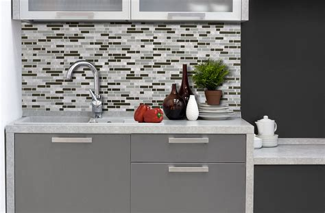 adhesif deco cuisine inspirations idées pour projets déco diy smart tiles