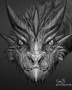 Daily Painting No.45 – Smaug-Like Dragon + Hobbit: DOS ...