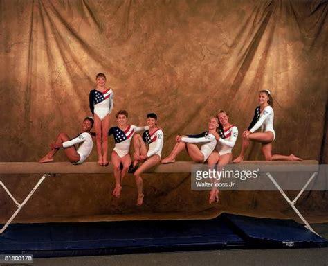 summer olympics portrait  team usa dominique dawes