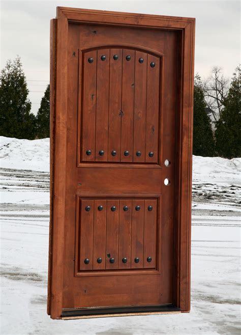 rustic front doors home entrance door prehung exterior door