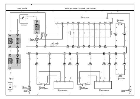 toyota echo radio wiring
