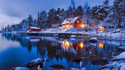 Stockholm Winter Wallpapers Sweden Country Landscape Place