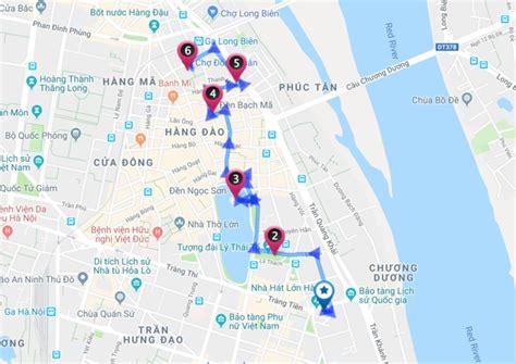 map  hanoi  quarter walking  inspitrip blog