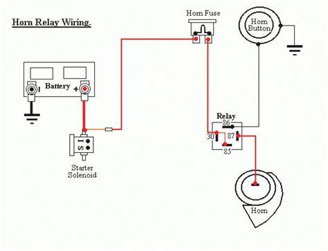 4 pin relay wiring diagram horn 31 wiring diagram images