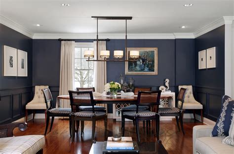 Perfect Navy Blue Dining Room Ideas 24 Love To Home Office Decorating Ideas With Navy Blue