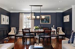 perfect navy blue dining room ideas 24 love to home office With how to decorate blue dining room