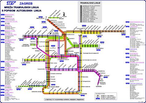 Croatia train / rail maps