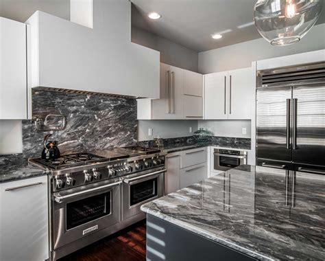 Contemporary White Kitchen In Allentown, Pa  Morris Black