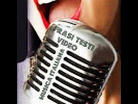 ti lascero testo oxa e fausto leali ti lascero karaoke testo