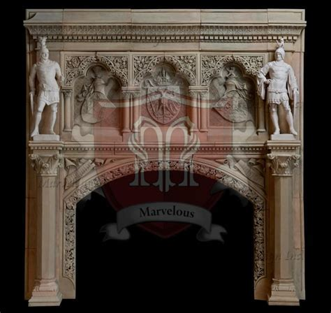 European Fireplace Mantel in New York  Marvelous Marble