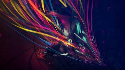 full hd wallpaper ribbon variegated figure flow desktop