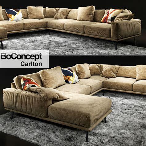 Bo Concept Sofa by Sofa Boconcept Carlton 3d Model Max Obj Fbx Cgtrader