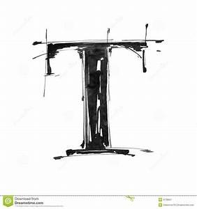 Alphabet Symbol - Letter T Stock Image - Image: 4738601