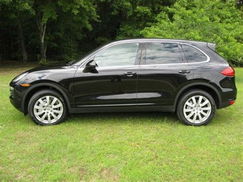 how make cars 2011 porsche cayenne regenerative braking purchase used 2011 porsche cayenne s tiptronic jet black metallic black interior very clean
