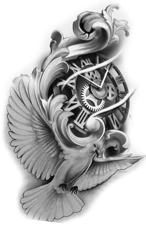 Pin by Milos Radenovic on tattoo | Filigree tattoo, Clock