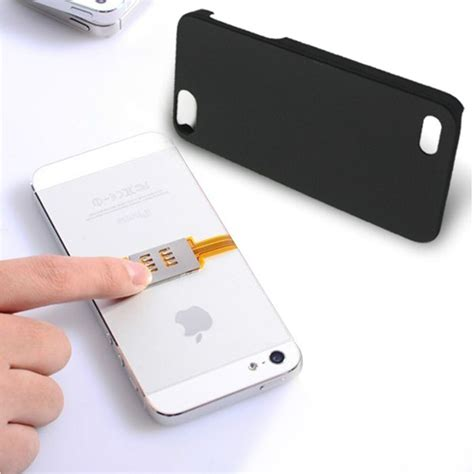 sim dual sim card double chip card adapter holder