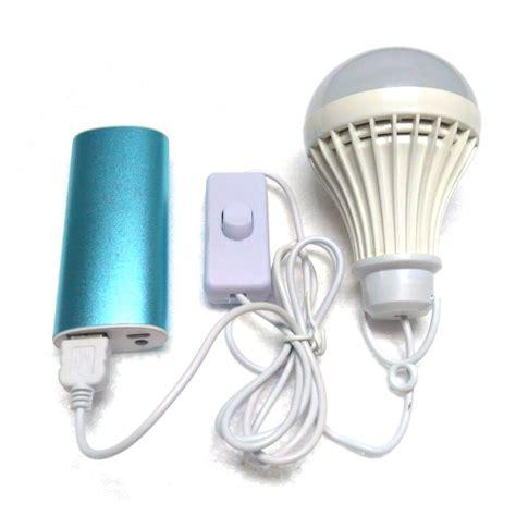 portable led light bulb usb light dc5v low voltage l