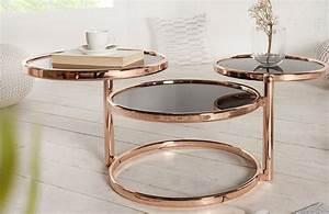 Table D Appoint Salon : meubles salon nativo table d 39 appoint trio bronze ~ Melissatoandfro.com Idées de Décoration