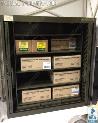 heavy duty ammo cabinets lockers police department