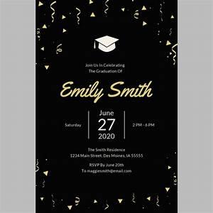 42  Sample Graduation Invitation Designs  U0026 Templates