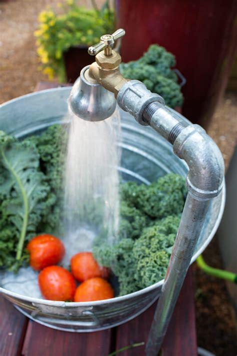 build  outdoor sink bonnie plants