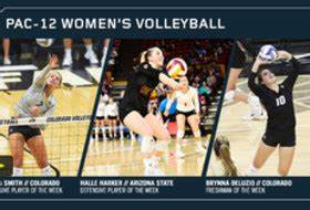 Pac-12 Women's Volleyball Players of the Week | Pac-12