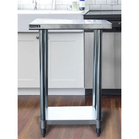 kitchen utility table sportsman stainless steel kitchen utility table with