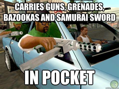 Funny Gta Memes - gta san andreas logic memes quickmeme